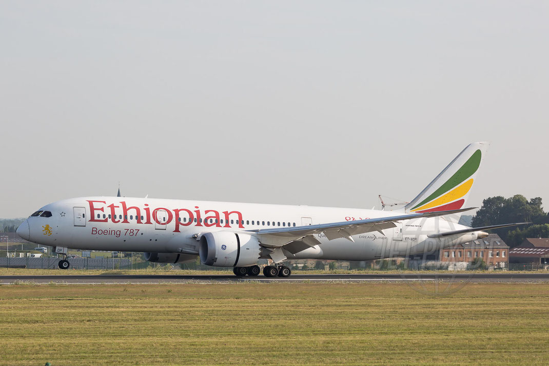 ET-AOP Ethiopian Boeing 787-8 Dreamliner 2017 07 07 Brüssel Zaventem (BRU/EBBR)