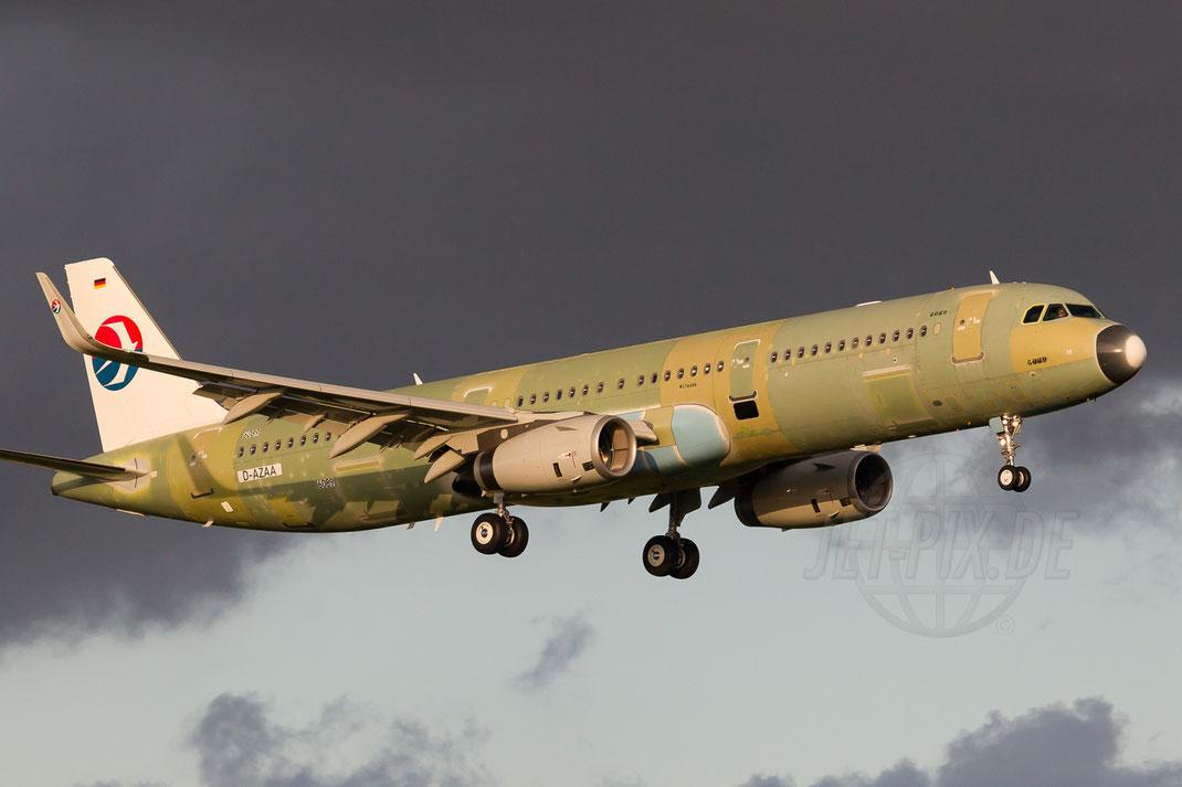 D-AZAA China Eastern Airlines A321-231(WL) 2014 04 08 EHBK Maastricht