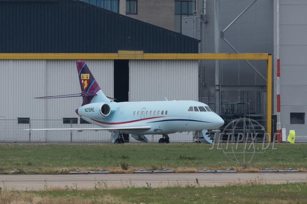 N215RE Private Dassault Falcon 2000 2017 07 16 Aachen-Maastricht (EHBK)