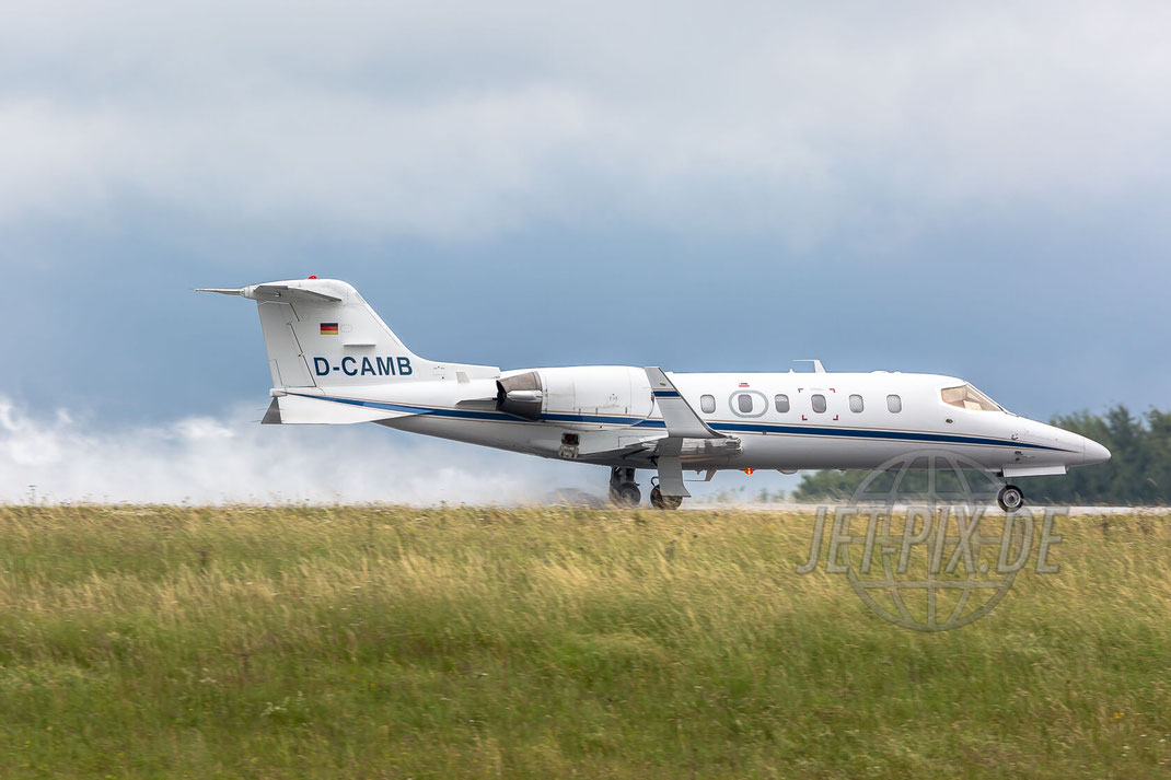 D-CAMB Private Learjet 31A 2017 07 01 EDFH Hahn