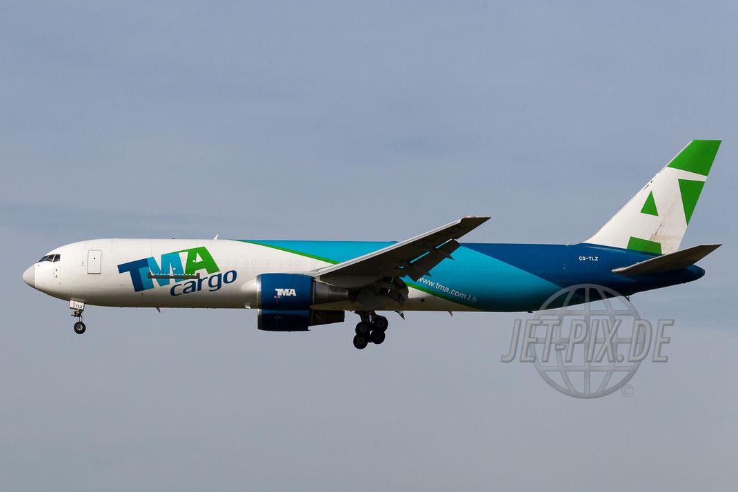 CS-TLZ TMA-Cargo Boeing 767 2013 10 03 EHAM Amsterdam
