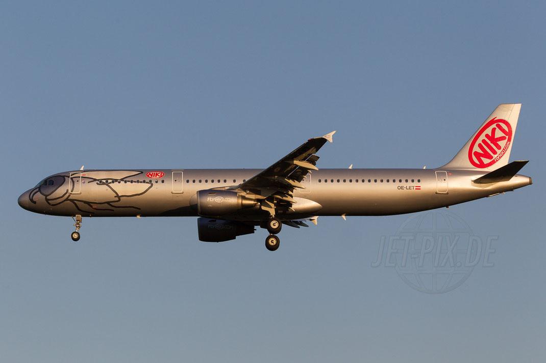 OE-LET Niki Airbus A321-211 2014 05 19 EDDL Düsseldorf