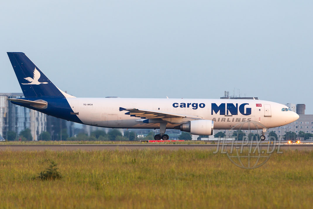 TC-MCA MNG Cargo Airlines Airbus A300 2015 05 15 LFPG Charles de Gaulle