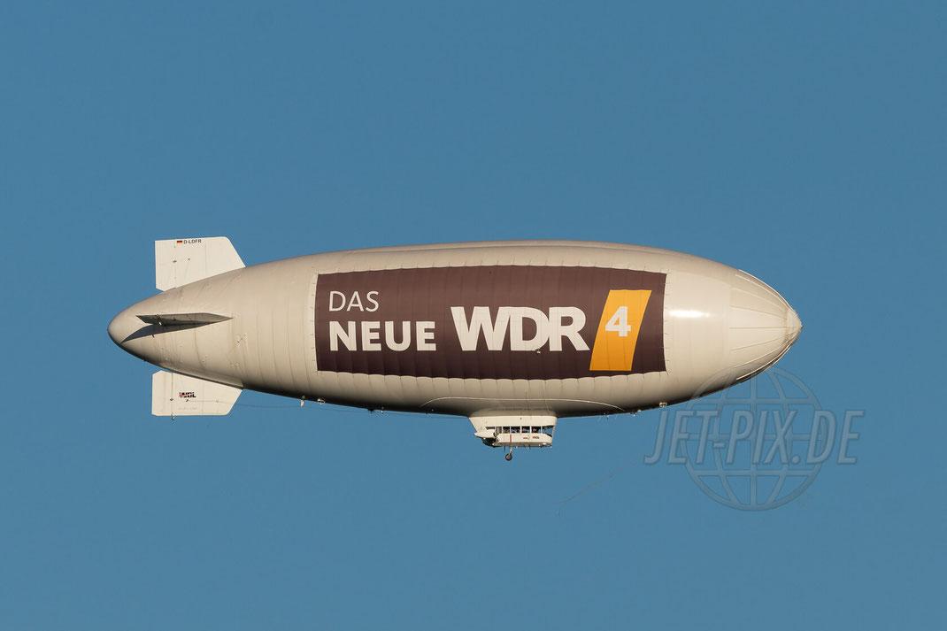 D-LDFR WDL Luftschiff WDL-1B 2017 10 14 EDDL Düsseldorf