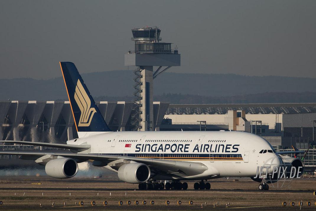 9V-SKS Singapore Airline Frankfurter Flughafen Spotting Spotter Start Landung 25 07 18 Besucherplattform Wanderung Terminal 3