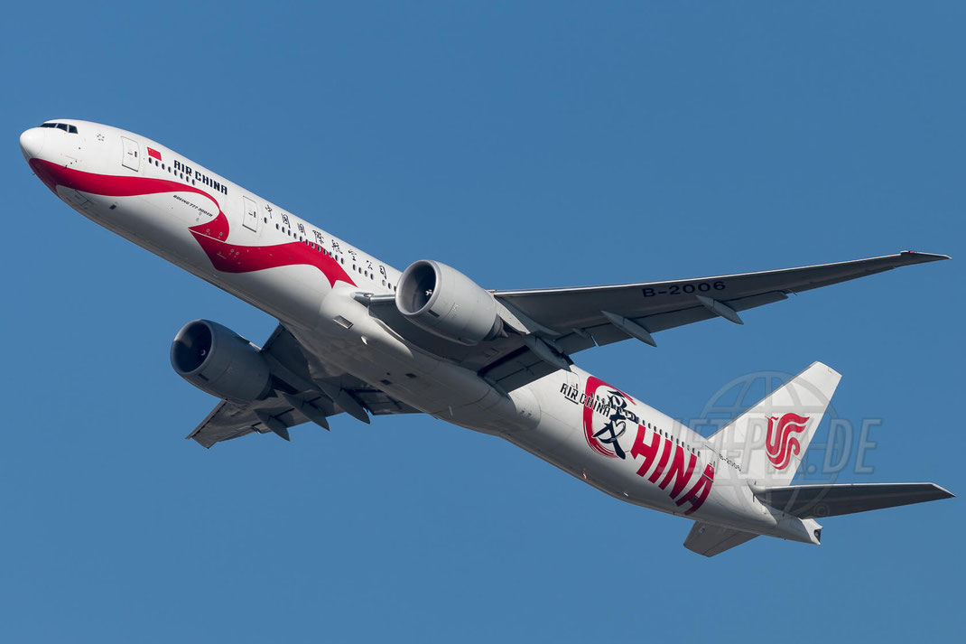 B-2006 Air China Boeing 777-39L(ER) 2017 10 18 EDDF Frankfurt