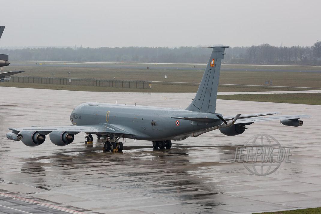 "31-CA Armée de l'air Boeing C-135 R Eindhoven (EHEH) Tanker Stratotanker Französische Luftwaffe Teilnehmer Frisian Flag 2017 ""EART"" European Air Refuelling Training"