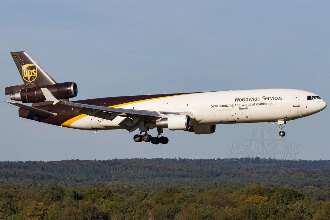 N290UP United Parcel Service (UPS) McDonnell Douglas MD-11F 2012 09 30 EDDK Köln