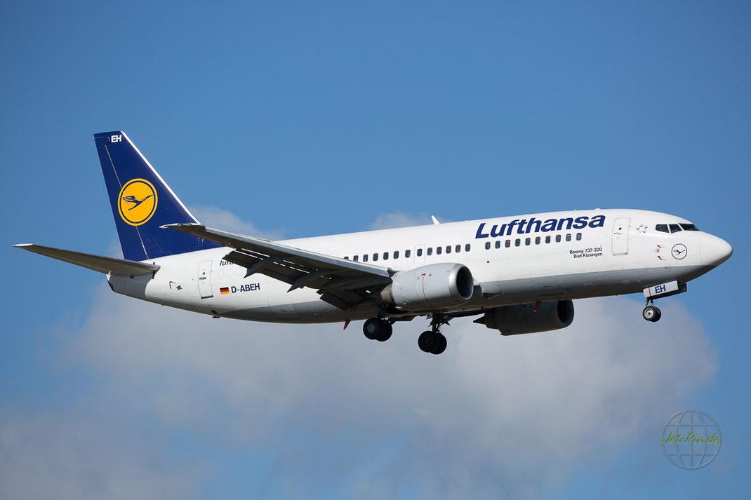 Abschied von den Lufthansa Boeing 737 Klassik bei bestem Licht