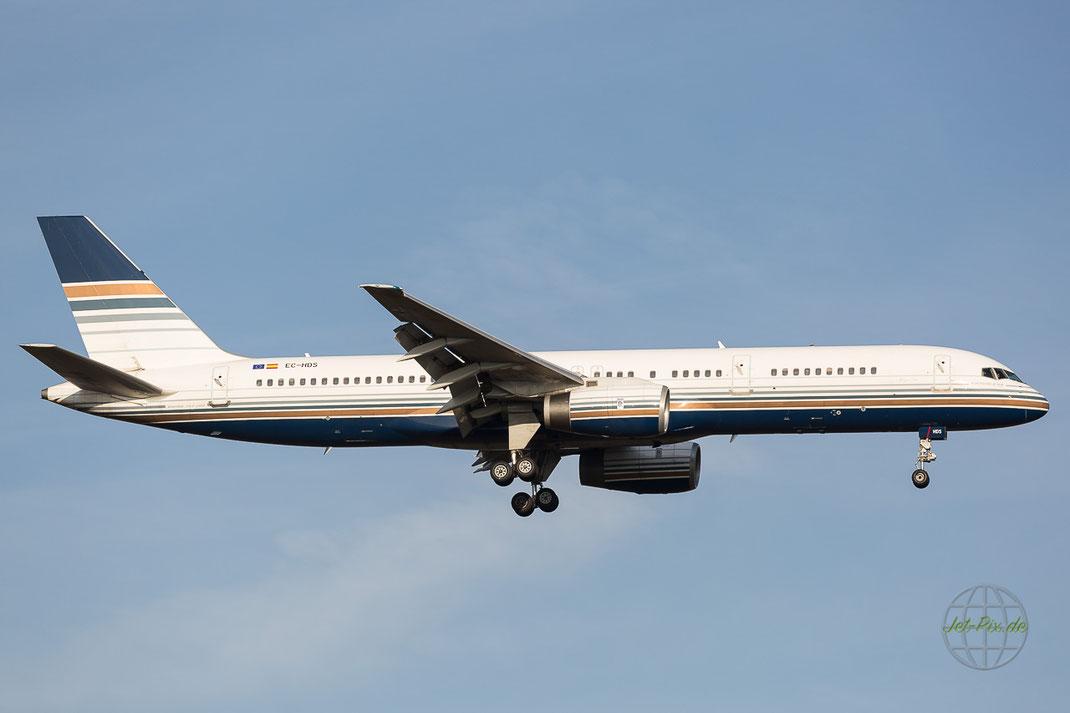 Für ElAl ist diese tolle 757 von Privileg Style unterwegs