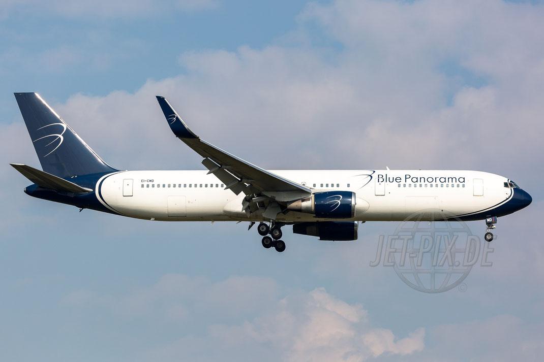 "EI-CMD Blue Panorama Airlines Boeing ""Operation for TUI"" 767-34(ER)(WL) 2017 09 23 EDDF Frankfurt"