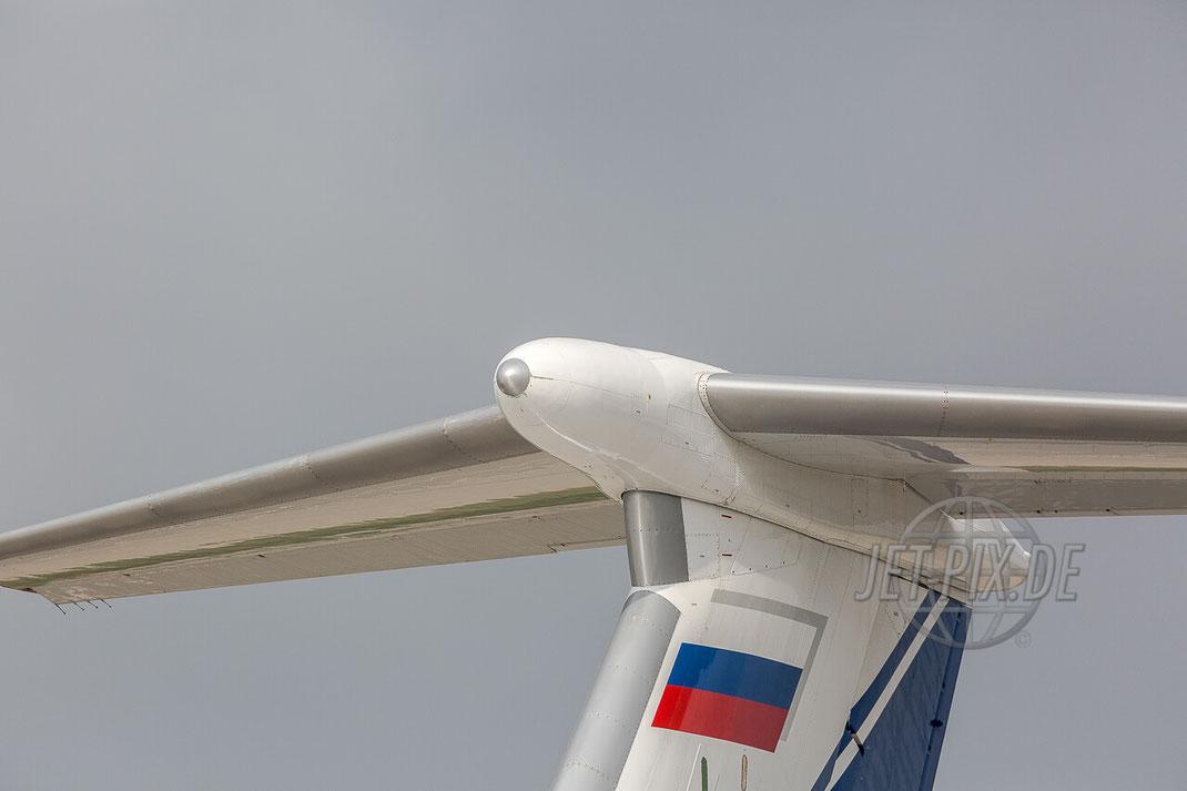 RA-76950 Volga-Dnepr Ilyushin Il-76TD-90VD Frankfurt Hahn (EDFH) Tail