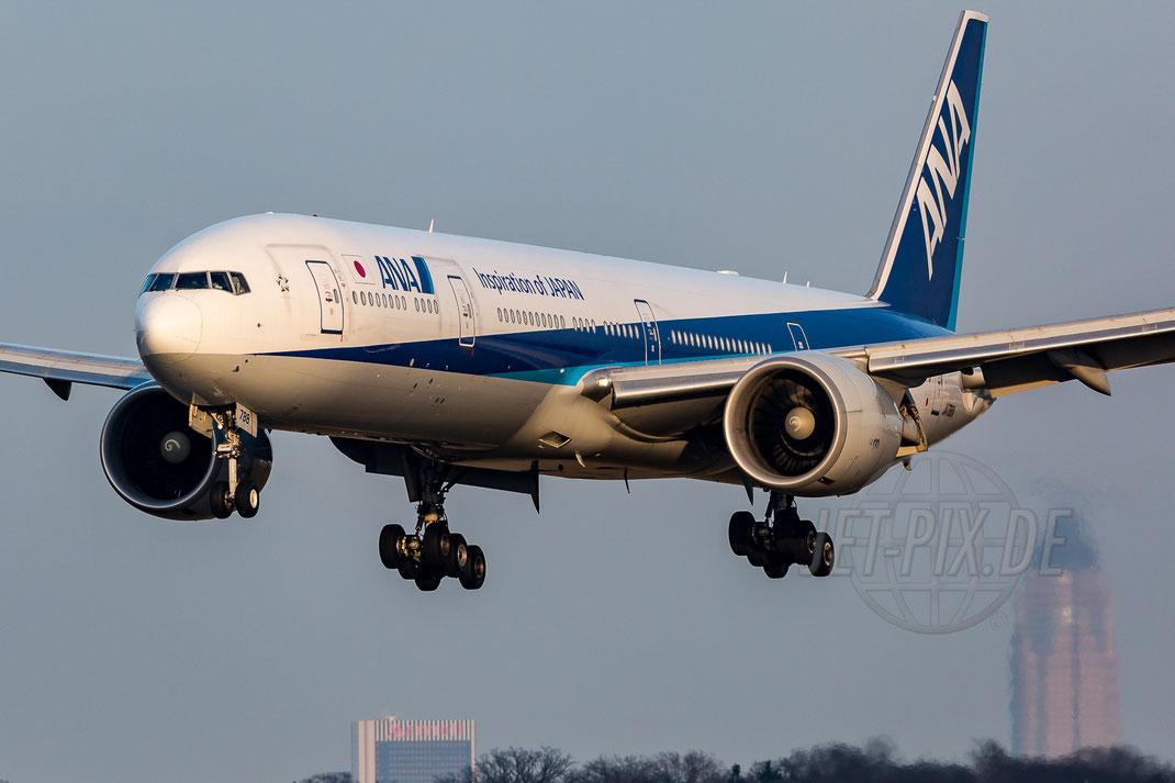 JA788A All Nippon Airways ANA Boeing 777-381ER 2017 12 07 EDDF Frankfurt