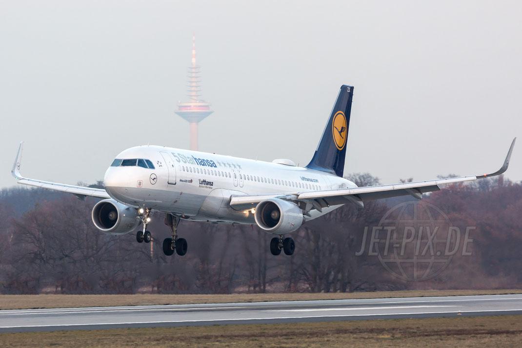 D-AIZX Lufthansa Airbus A320-214(WL) 2017 12 07 EDDF Frankfurt