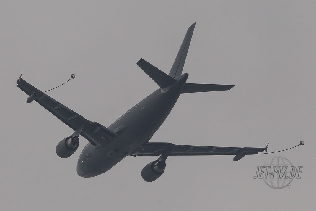Deutsche A310 MRTT zeigt was er kann. Betankung