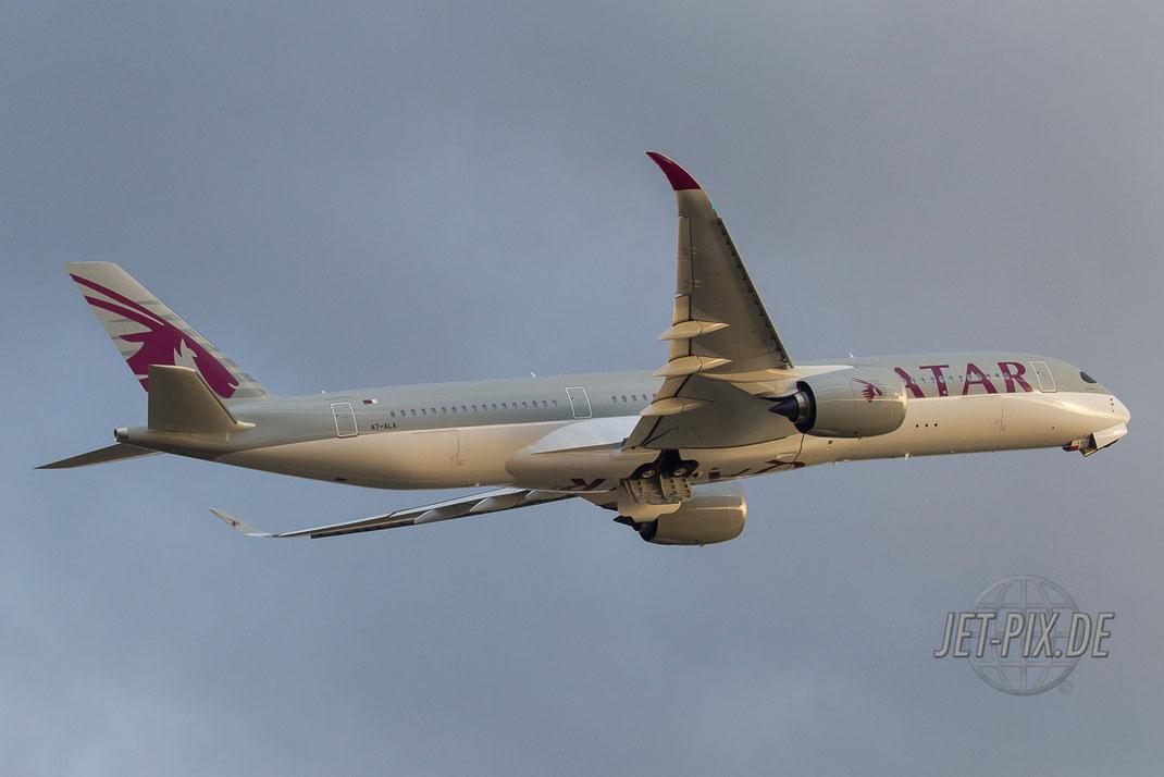 A7-ALA Frankfurter Flughafen Spotting Spotter Qatar Spotting Start Landung 25 07 18 Holidayparkplatz Rundweg Startbahn-West