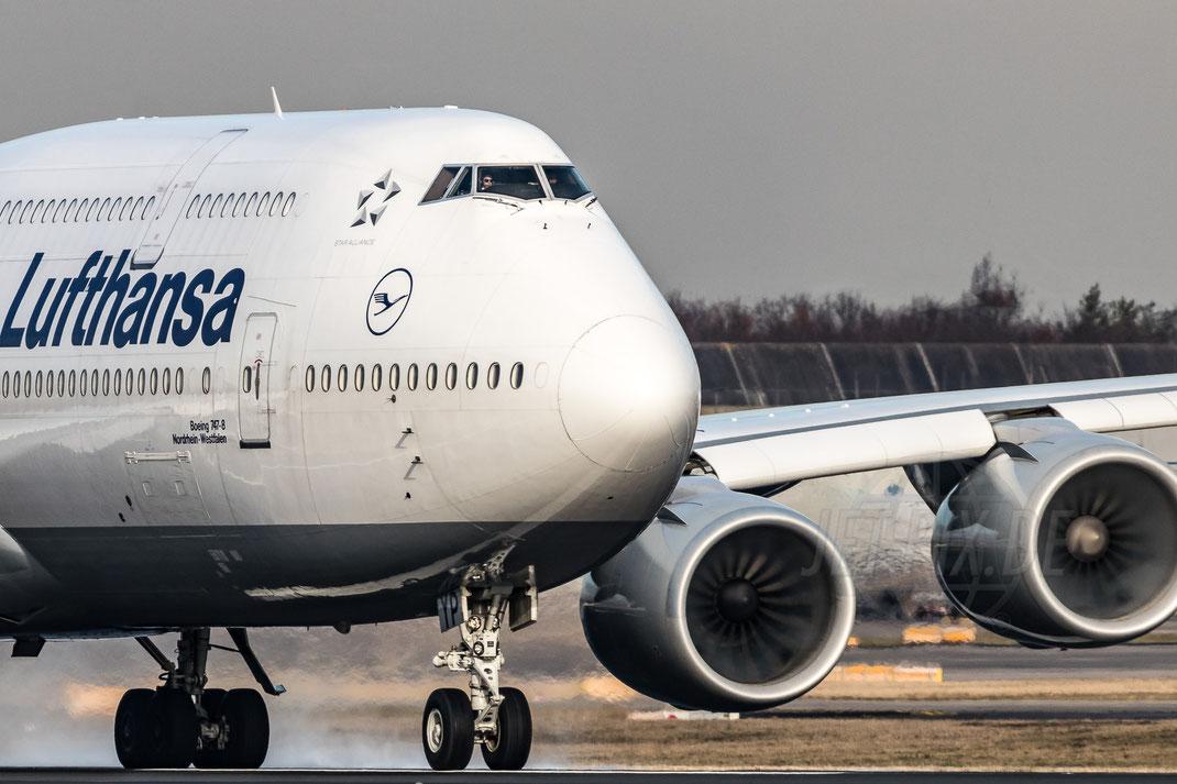 D-ABYP Lufthansa Boeing 747-8 2018 01 10 EDDF Frankfurt