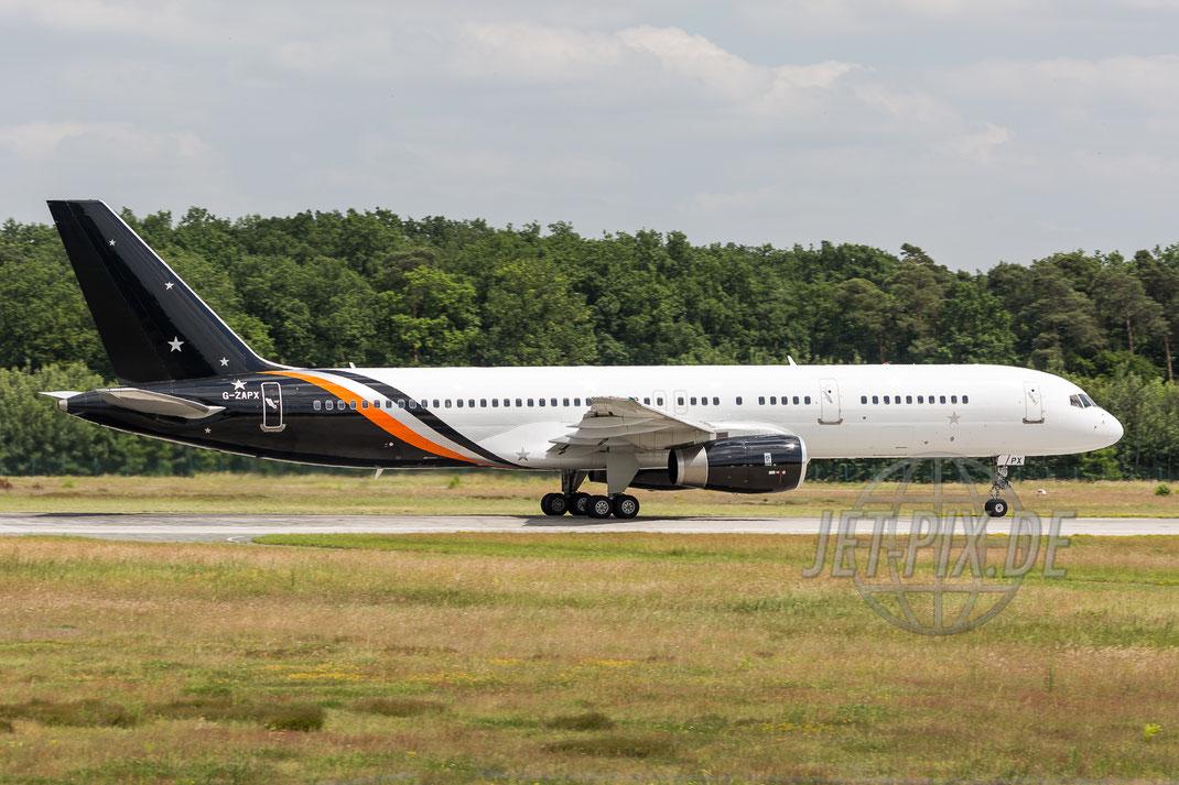 G-ZAPX TitanAirways Boeing 757-256 2017 06 13 EDDF Frankfurt