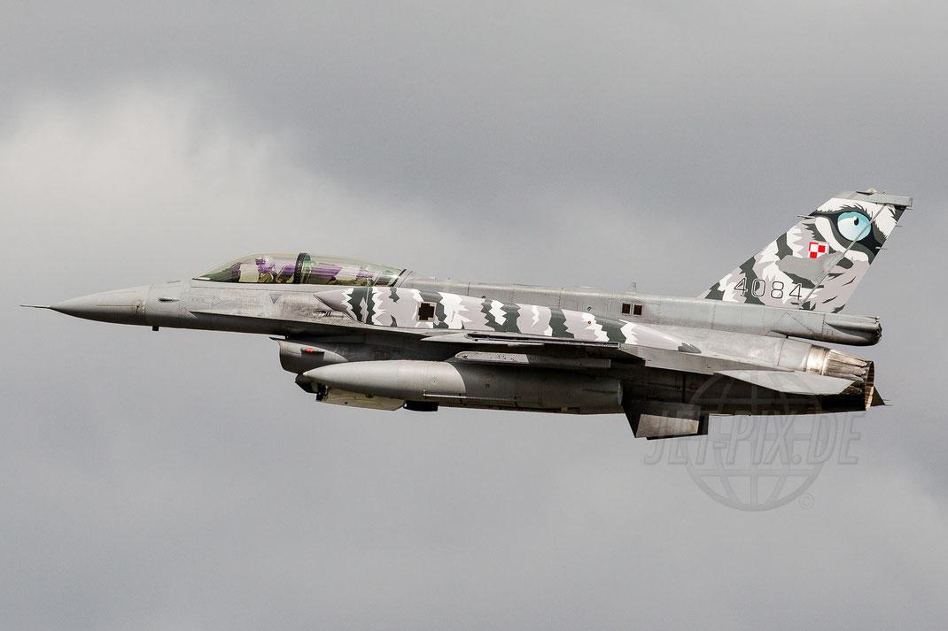 4084 Polish Airforce Lockheed Martin F-16 Fighting Falcon 2014 06 23 ETNS Jagel