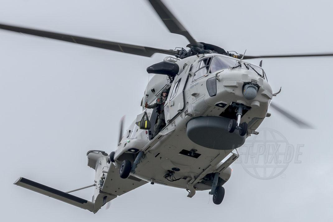 RN-04 Belgium - Air Force Eurocopter NH-90 NFH 2017 07 14 EBFN Koksijde