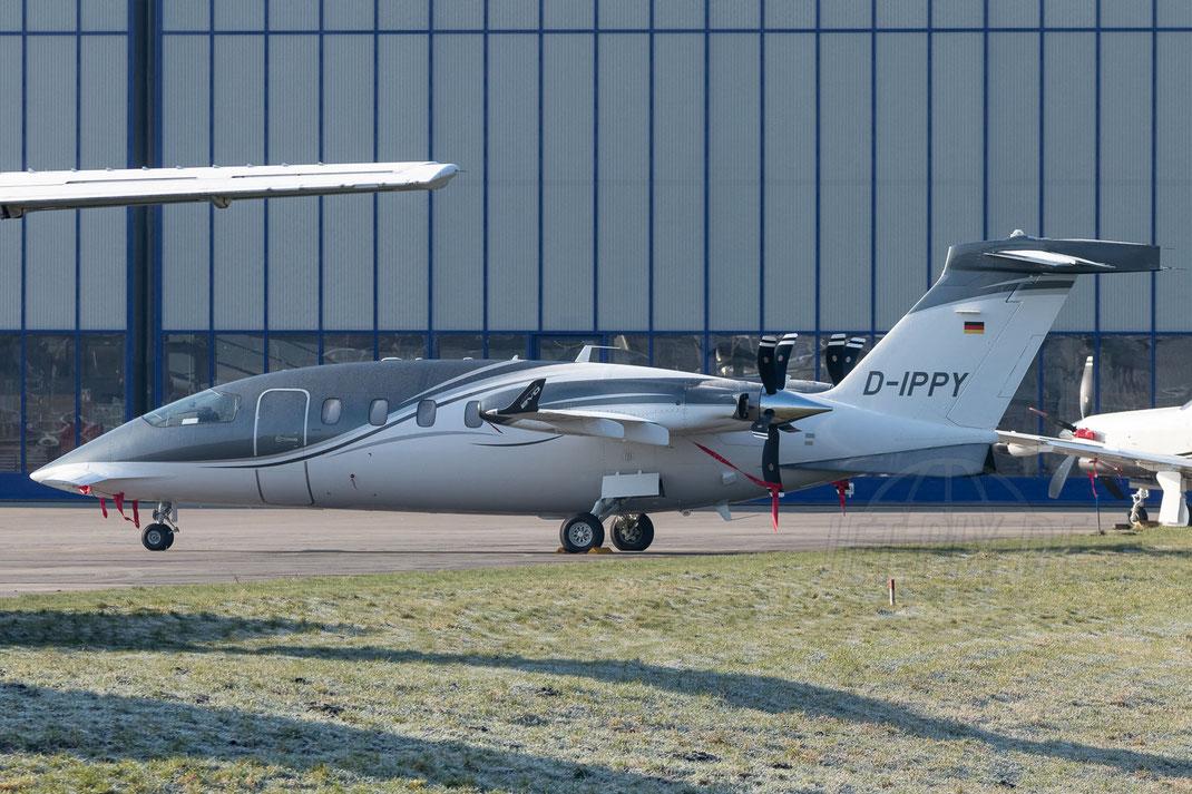 D-IPPY Piaggio P180 2018 02 18 EDLN Mönchengladbach