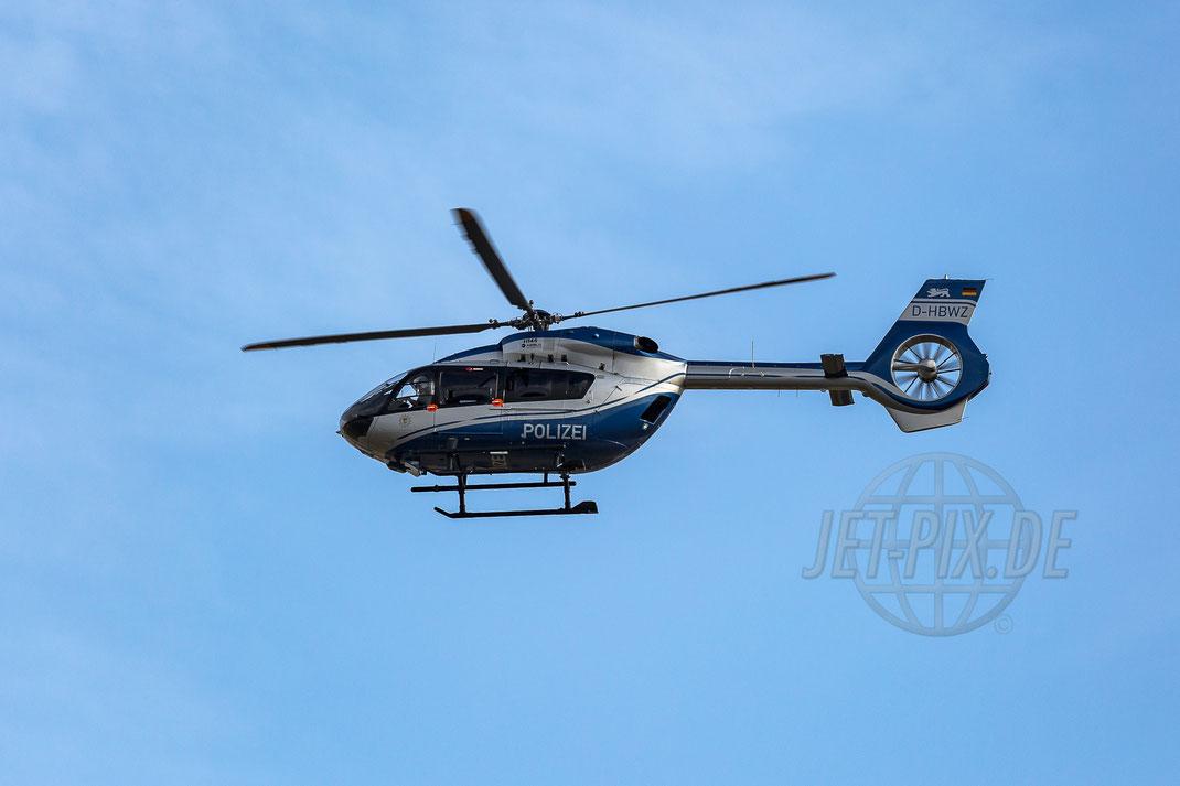 "D-HBWZ Polizei (BW) EC-145T2  2017 06 24 EDDF Frankfurt ""Tag der Luftfahrt"""