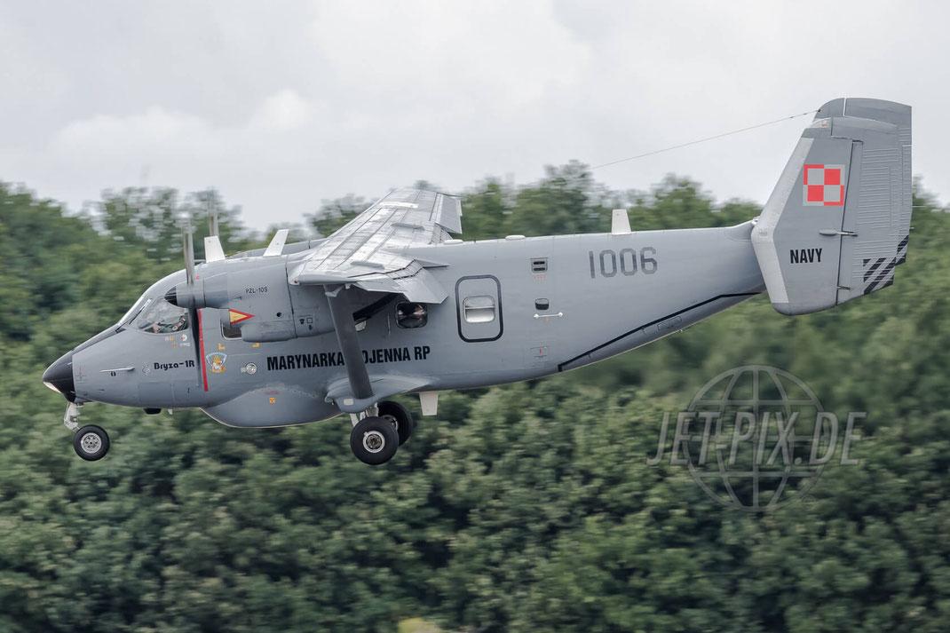 """1006 Polish Navy PZL-Mielec M-28B-1R Bryza 2017 06 30 ETNG Geilenkirchen """"35 Years E-3A"""""""