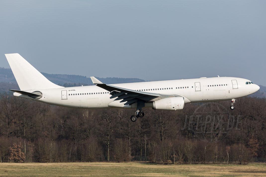 G-VYGL Airtanker Airbus A330 2018 02 18 EDDK Köln