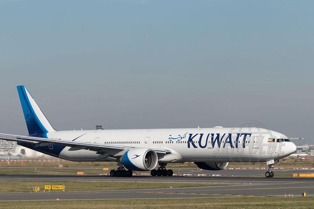 9K-AOM Kuwait Airways Boeing 777-369(ER) 2017 10 18 EDDF Frankfurt