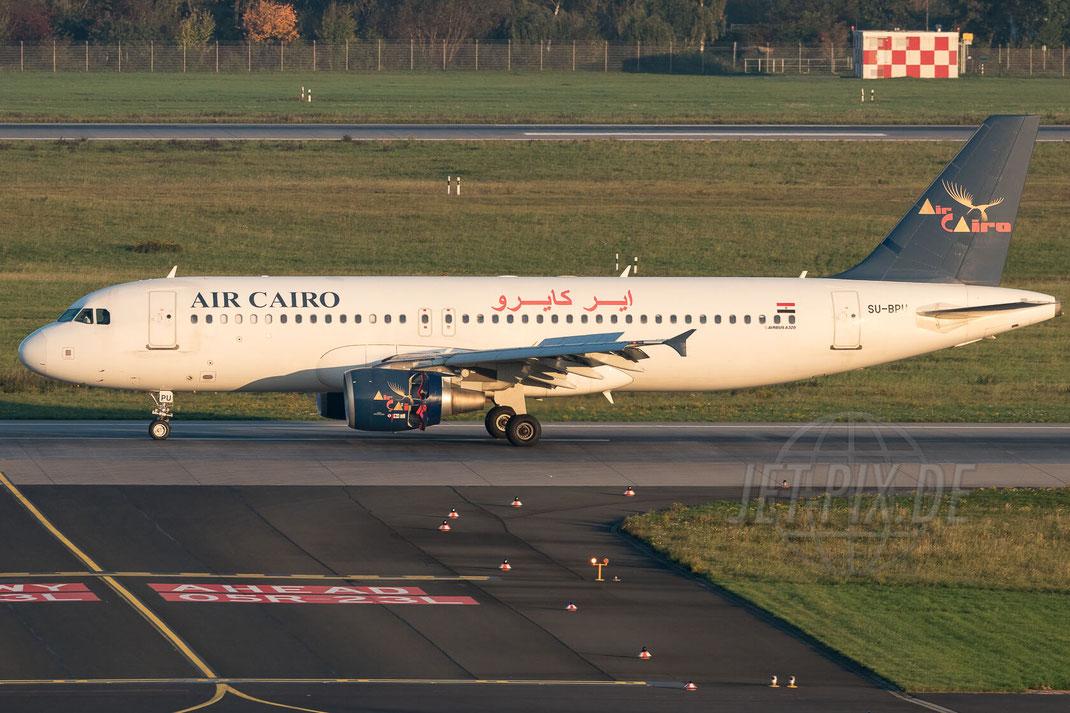 SU-BPU Air Cairo Airbus A320-214 2017 10 14 EDDL Düsseldorf
