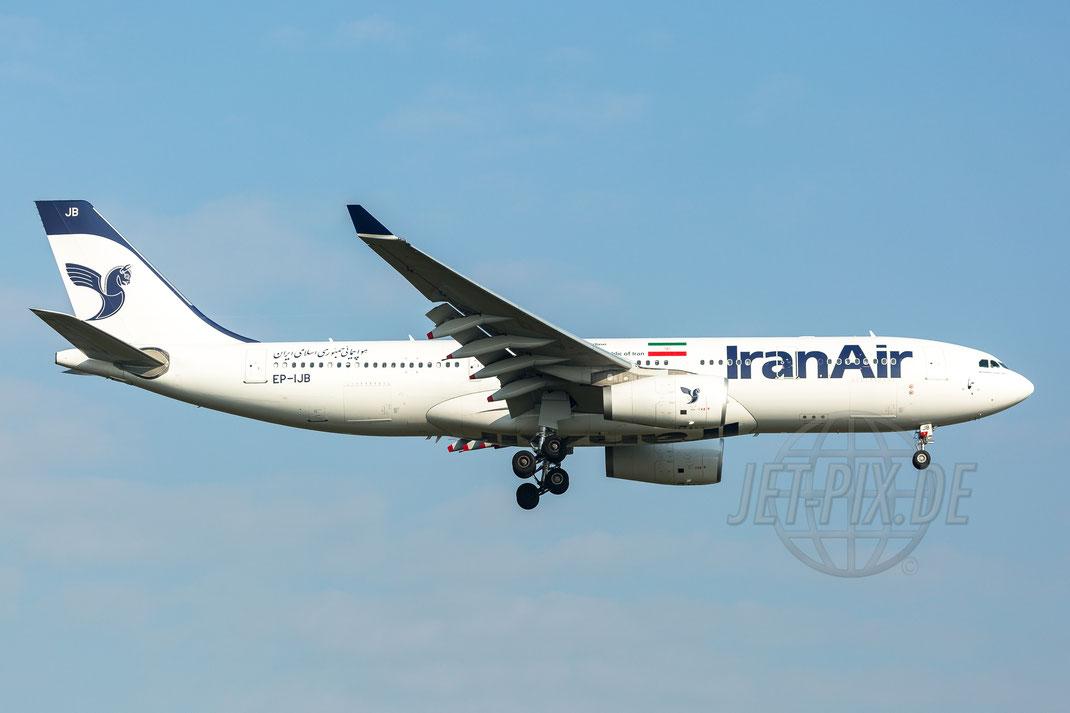 EP-IJB Iran Air Airbus A330-243 2017 09 23 EDDF Frankfurt