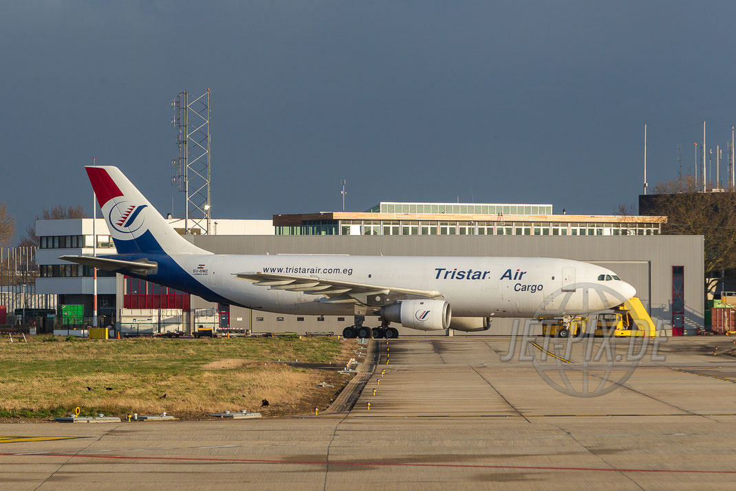 SU-BMZ Tristar Air Cargo Airbus A300 2014 02 19 EHBK Maastricht