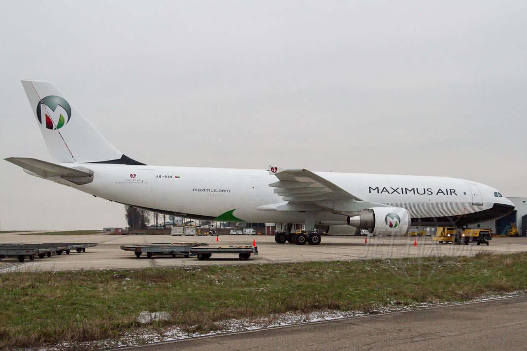 A6-NIN Maximus Air Cargo Airbus A300B4-622R(F) 2013 02 10 EHBK Maastricht