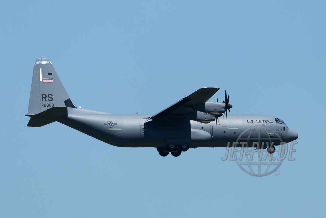 78608/RS Lockheed C-130J USAF 2017 05 26 ETAR Ramstein