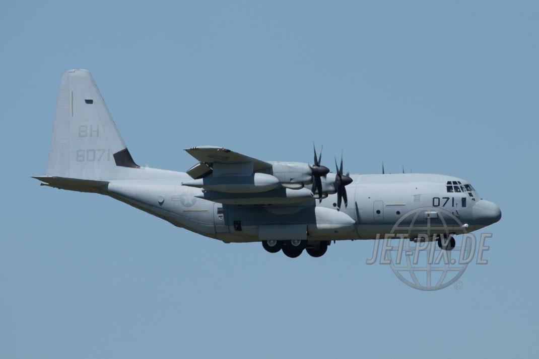168071/BH Lockheed KC-130J United States Marine Corps  2017 05 26 ETAR Ramstein