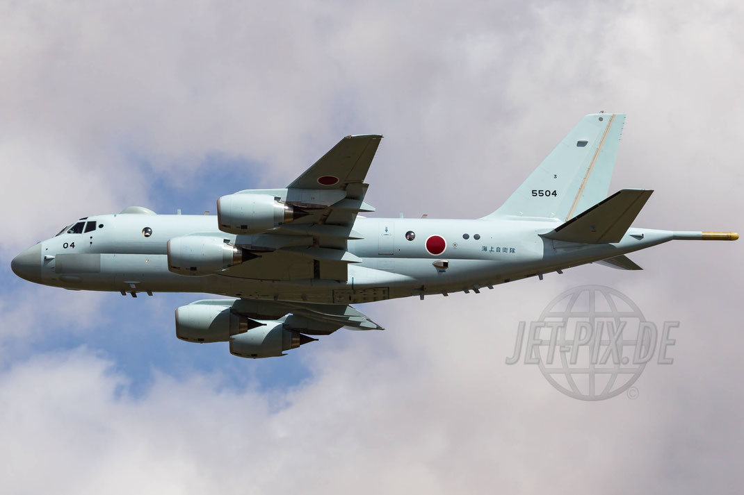 5504 Japan Maritime Self Defense Force (JMSDF) Kawasaki P-1 2015 07 18 EGVA Fairford