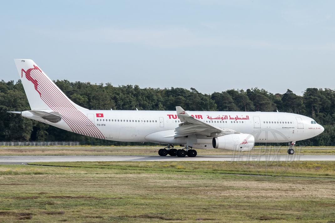 TS-IFN Tunisair Airbus A330-243 2017 09 22 EDDF Frankfurt