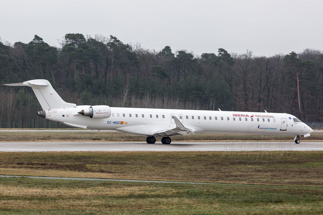 EC-MQQ Air Nostrum Canadair CL-600-2E25 Regional Jet 2018 01 06 EDDF Frankfurt
