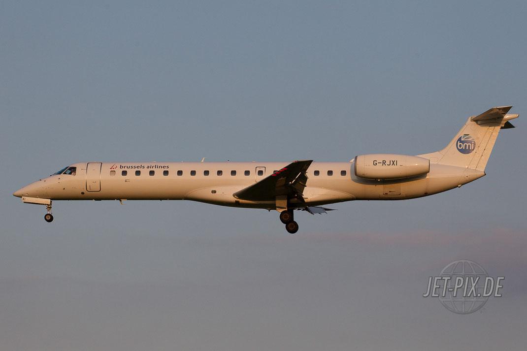 G-RJXI Brussels Airlines ERJ