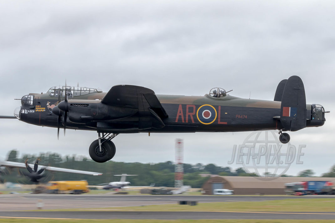 PA474 AVRO Lancaster Royal International Air Tattoo (RIAT) 2017 07 15 Fairford (EGVA)