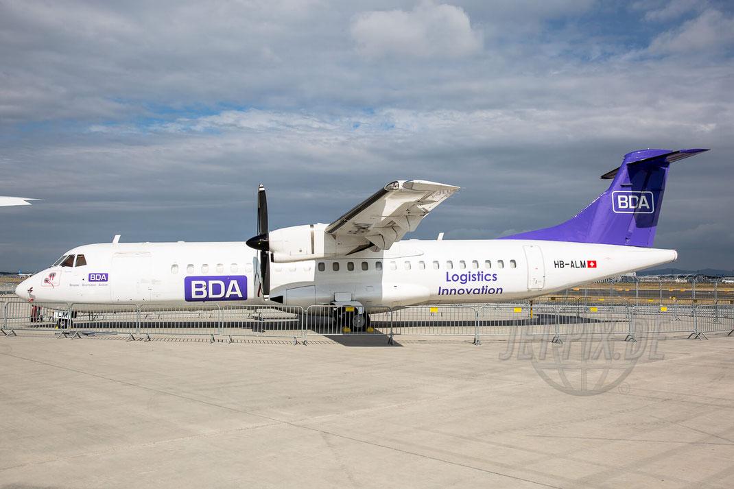 HB-ALM BDA ATR72  2017 06 25 Tag der Luftfahrt (TdL)