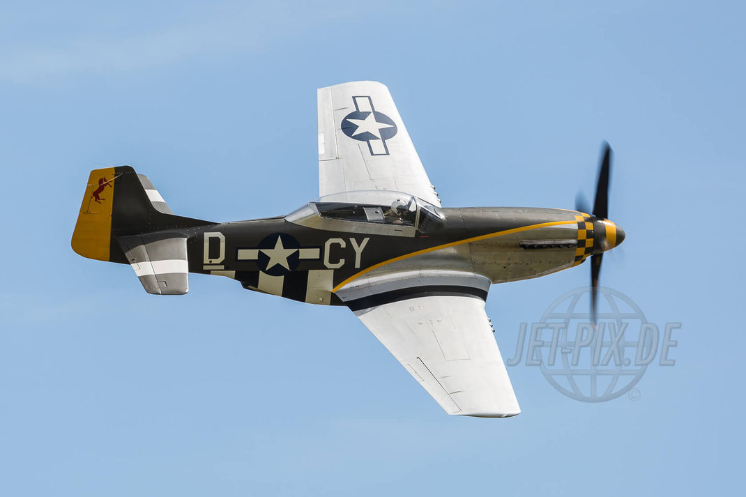 "G-TFSI TF51D Mustang ""Miss Velma"" Duxford (EGSU) 2017 07 08 Flying Legends"