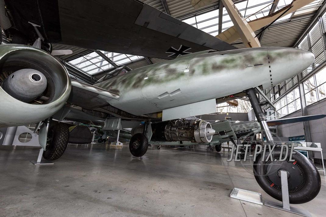 Me 262 sonst im Deutschen Museum in München ausgestellt Flugzeugwerft Oberschleissheim