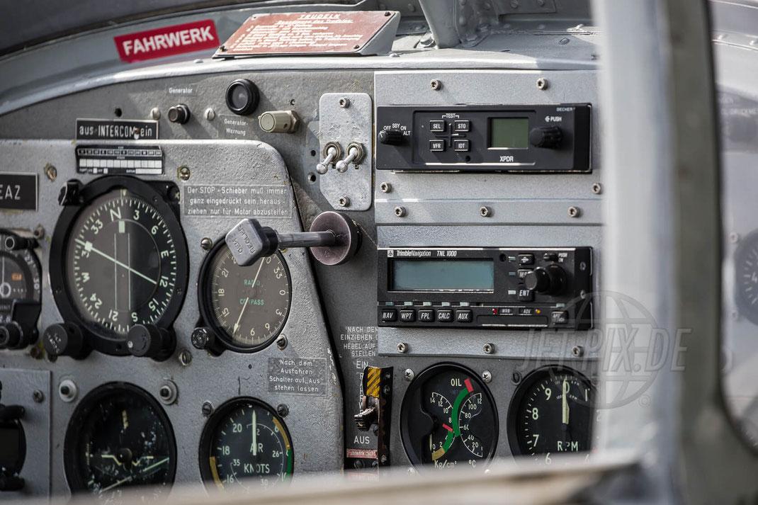 D-EEAZ Focke Wulf FWP-149D 2017 06 25 Tag der Luftfahrt (TdL) Instrumente