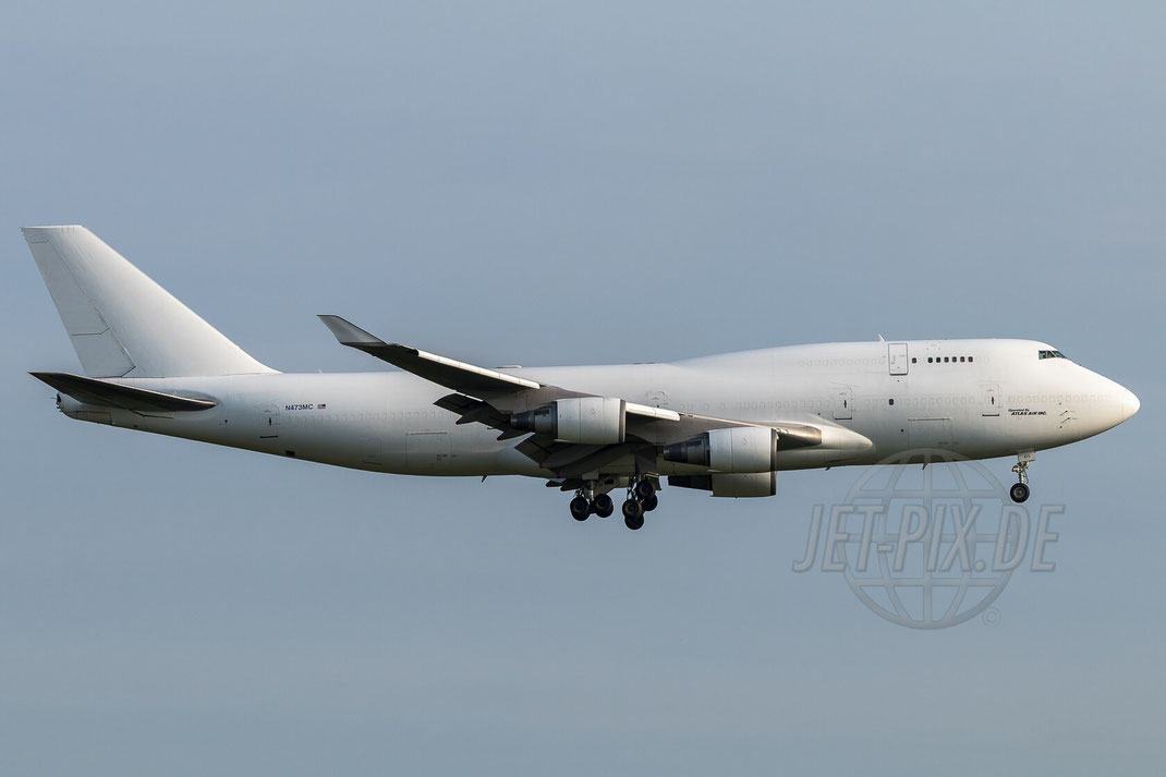 N473MC Atlas Air Boeing 747-45E (BDSF) 2017 08 25 ETAR Ramstein