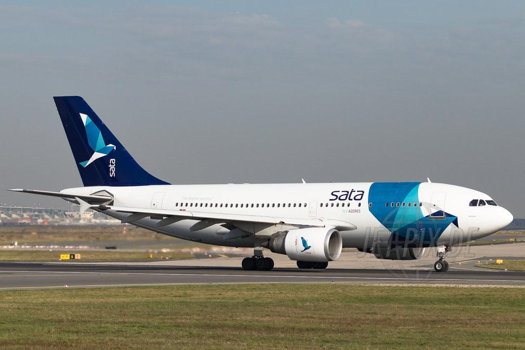 CS-TGU SATA International Airbus A310-304 2017 10 19 EDDF Frankfurt