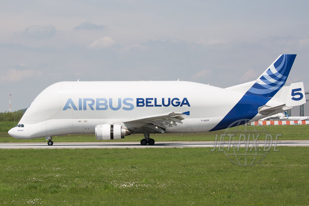 F-GSTF Airbus International Transport Airbus A300 Beluga 2017 05 18 EDHI Finkenwerder