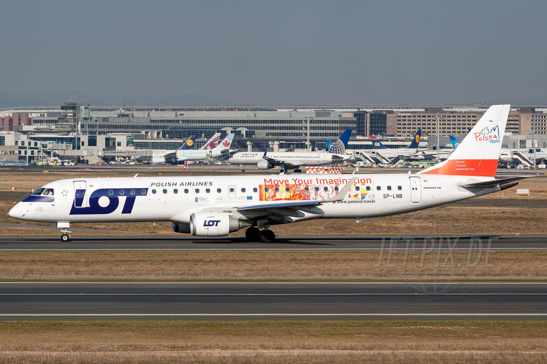 SP-LNB Lot Polish Airlines Embraer ERJ195LR (ERJ-190-200 LR) 2012 03 20 EDDF Frankfurt