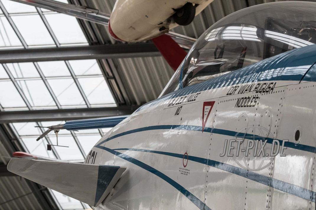 Versuchsjäger mit Vectorsteuerung Flugzeugwerft Oberschleißheim Deutsches Museum