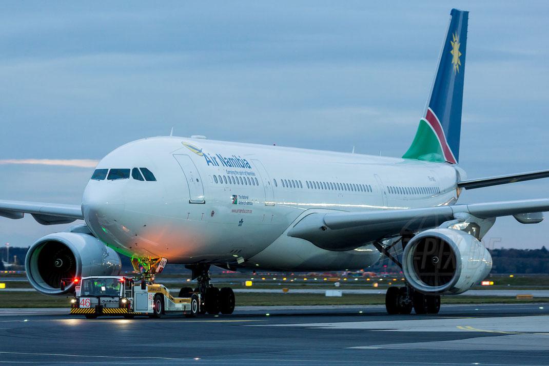 V5-ANO Air Namibia Airbus A330-243 2017 10 28 EDDF Frankfurt Tour 747UA End